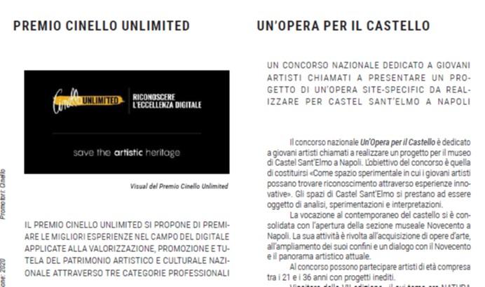 Premio Cinello Unlimited